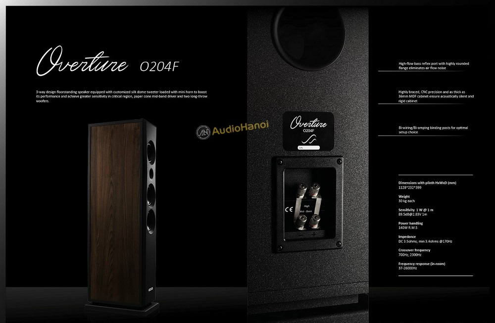 Loa AudioSolutions Overture O204F chuan