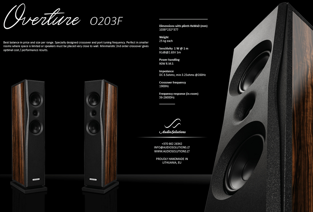 Loa AudioSolutions Overture O203F